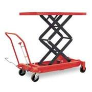 """DAYTON 4ZD01 Scissor Lift Table, 1500 lb. Cap, 24""""W, 48""""L"""