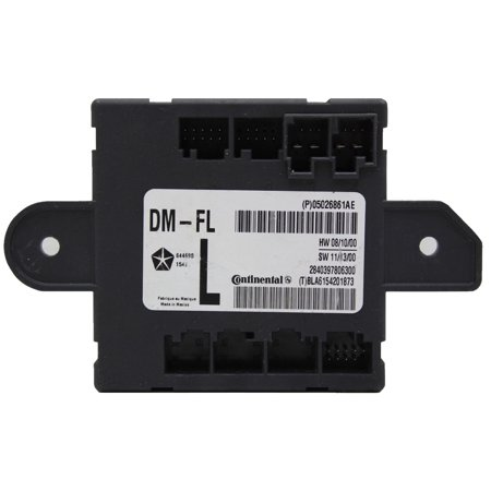 Factory New Mopar Part # 5026861-AE Left Electrical Door Module for Chrysler Town and Counrty, Dodge Grand Caravan, Dodge Journey, Dodge Nitro, Jeep Liberty, and Ram
