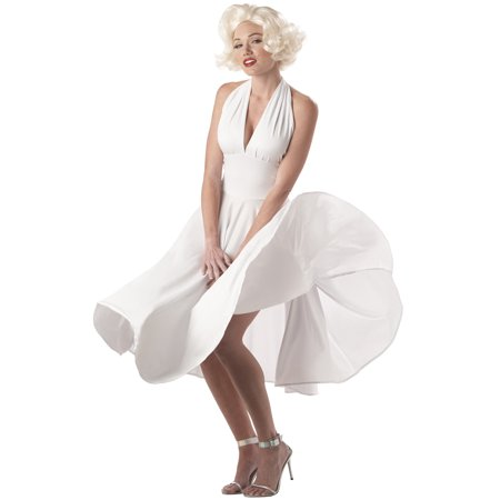 Sexy Marilyn Adult Costume - Marilyn Halloween