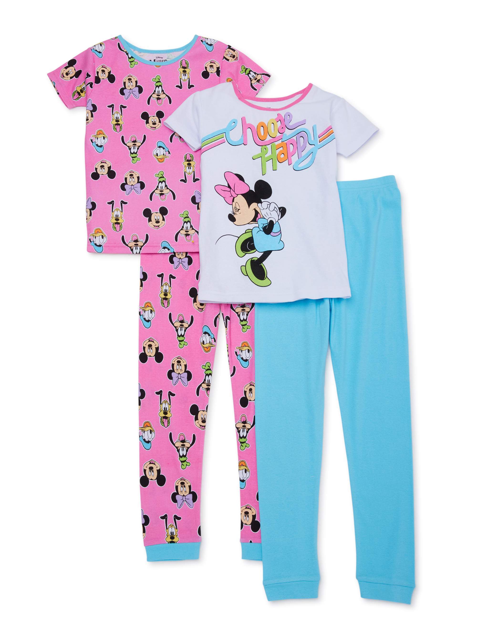 Disney Minnie Mouse Little Girls Toddler Halloween Pajama Set