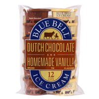 Product Image Blue Bell Dutch Chocolate Homemade Vanilla Flavored Ice Cream Cups