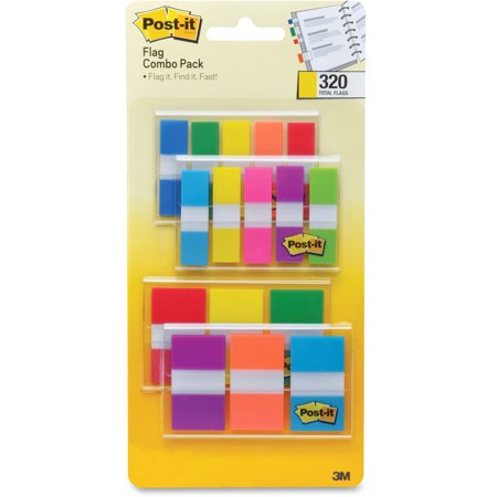 Post-it Flags, Assorted Color Combo Pack, Multicolor, 320 Count](Post It Flags Bulk)