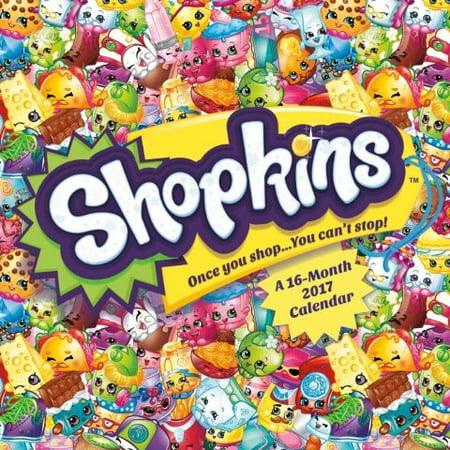 Shopkins 2017 Calendar - Walmart.com
