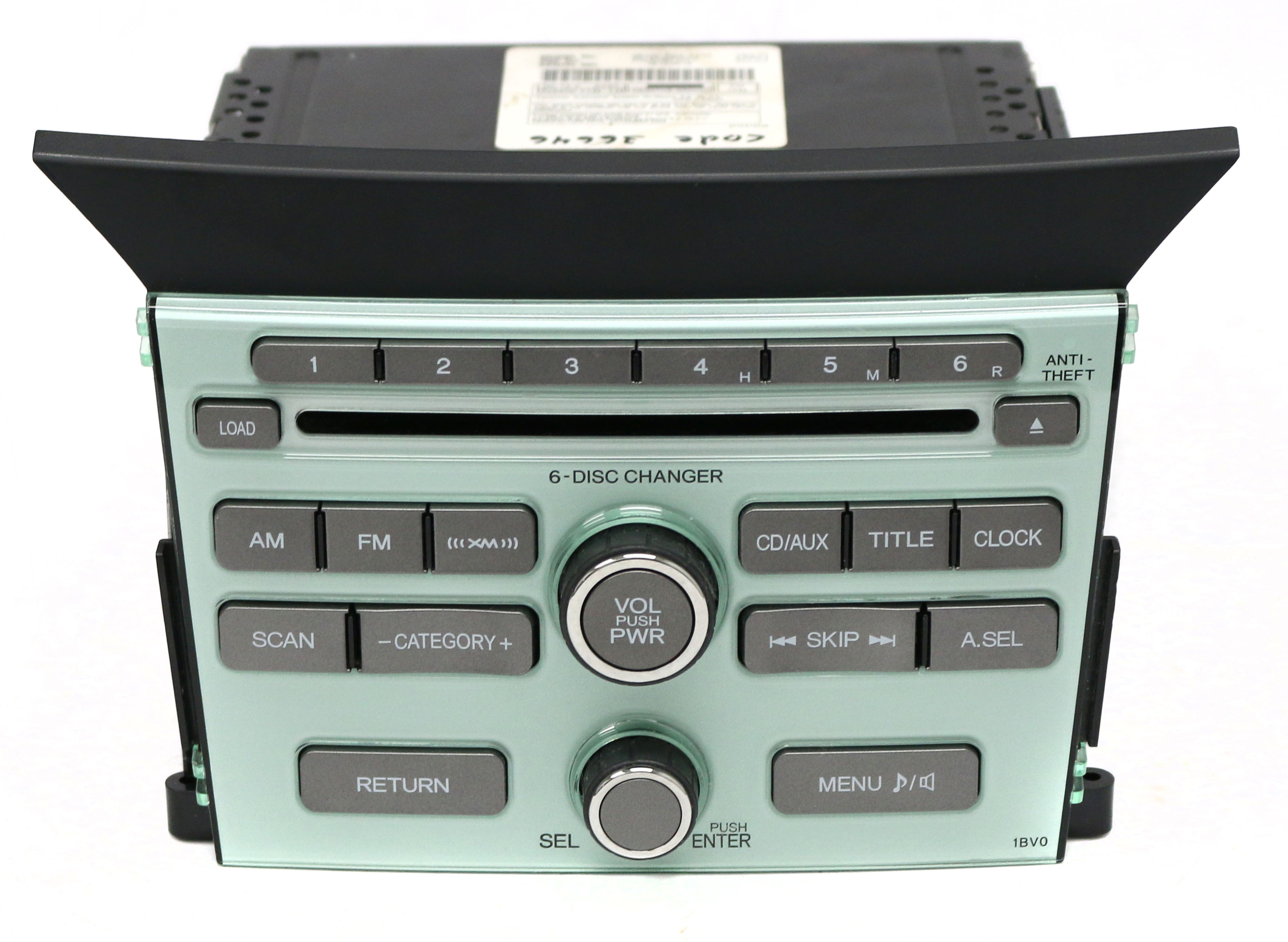 2009 2011 Honda Pilot Am Fm Satellite Radio Mp3 6 Disc Cd 39100 Sza A210 1bv0 Refurbished Walmart Com Walmart Com