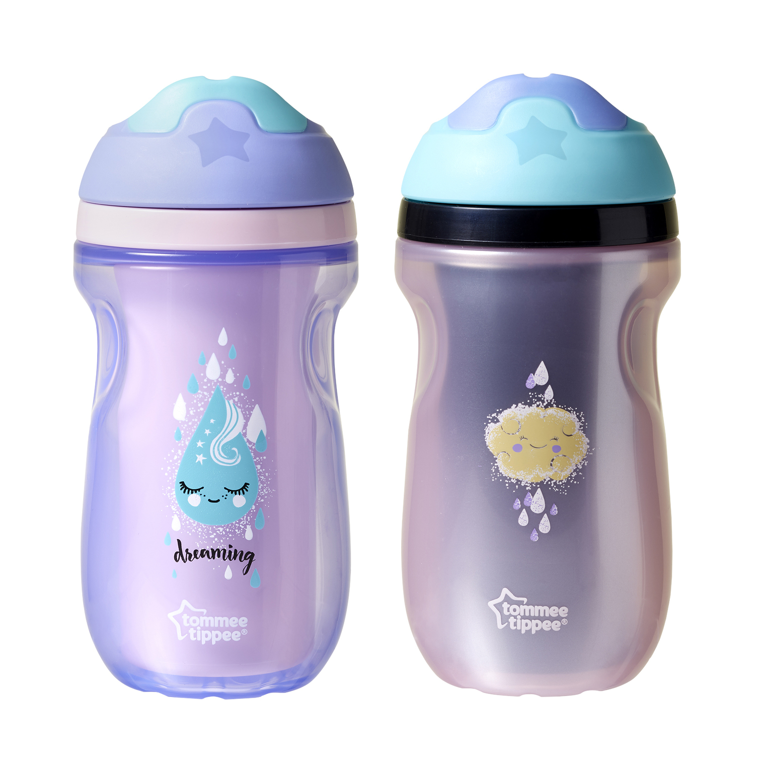 Purple Bird Tommee Tippee Sippee Cup 4m 2 Pack