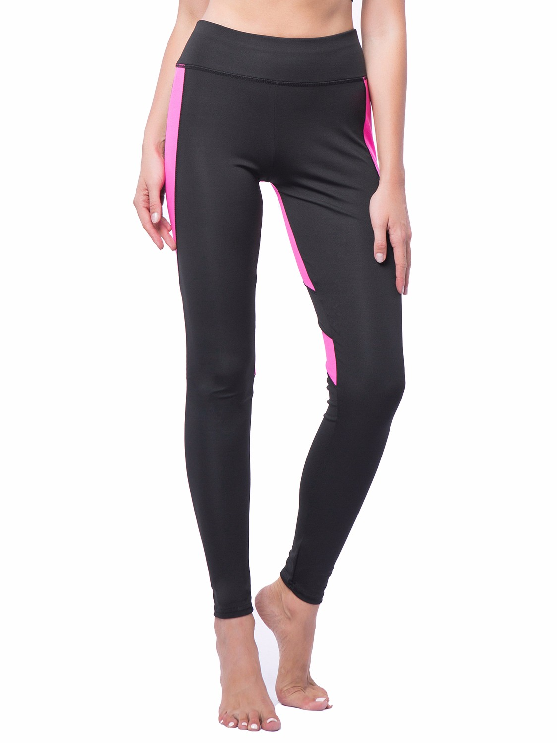 d83418cdbe14d9 FITTOO - FITTOO Activewear Women's Workout Leggings Mesh Splicing Yoga  Sport Pants Heart Shape Butt Black&Pink,S - Walmart.com