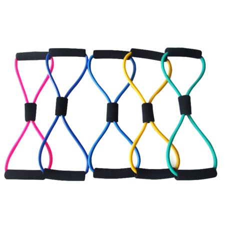 BALIGHT Multi-purpose 8-shaped Rally Pull Rope Elastic Tension Durable Expander Sport Fitness Yoga - Toga Robe