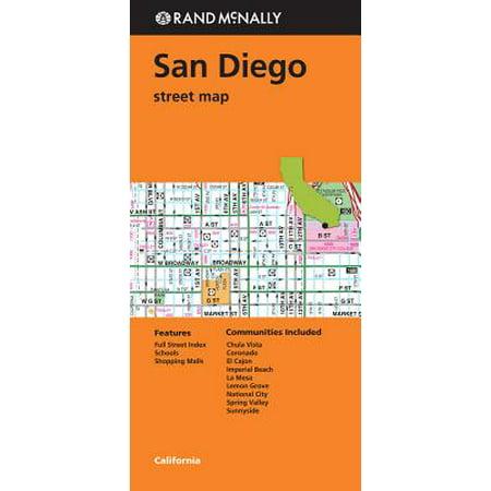Rand mcnally san diego, california street map: