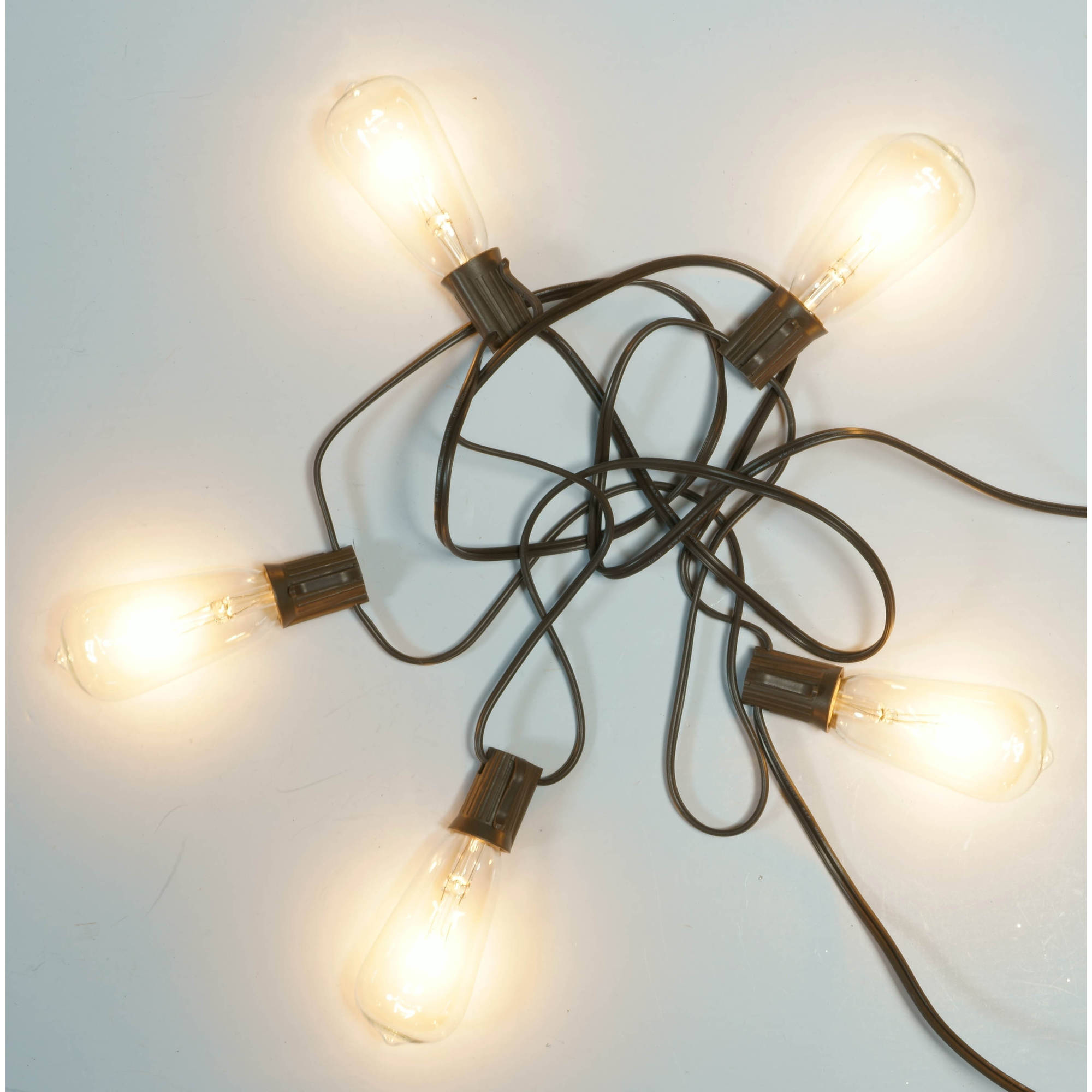 Better Homes And Gardens Outdoor Glass Edison String Lights 10 Count