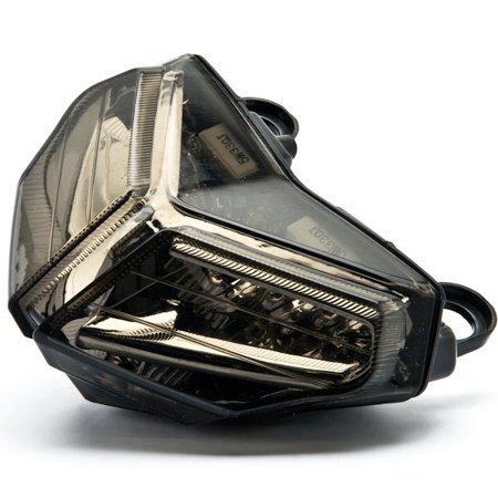 Kapsco Moto Smoke LED Tail Light Integrated with Turn Signals For 2007 Ducati 1098 / 1098R / 1098S - image 3 of 4