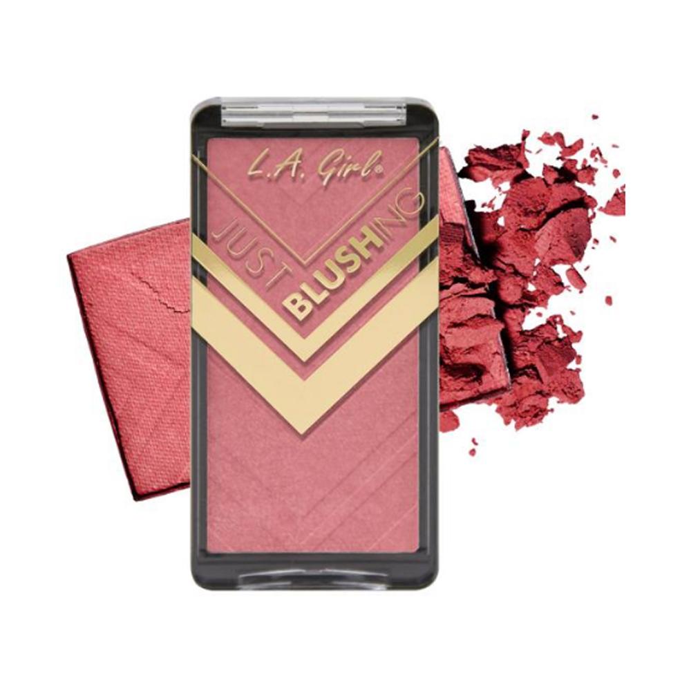 (3 Pack) LA GIRL Just Blushing Powder Blush - Just Dazzle