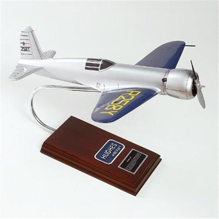 Hughes 1-B Desktop Wood Model