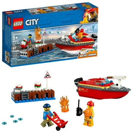 LEGO City Fire Dock Side Fire 60213