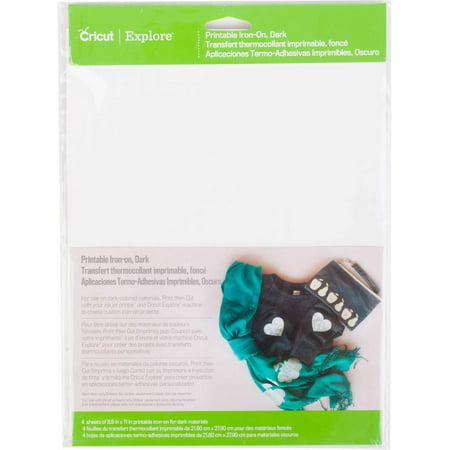 "Cricut Printable, 8.5""x11"" Black"