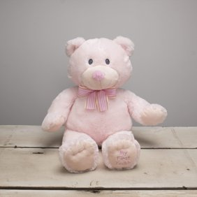 Recordable Teddy Bear Walmart, Record Your Own Plush 8 Inch Pink Patches Teddy Bear Ready 2 Love In A Few Easy Steps Walmart Com Walmart Com