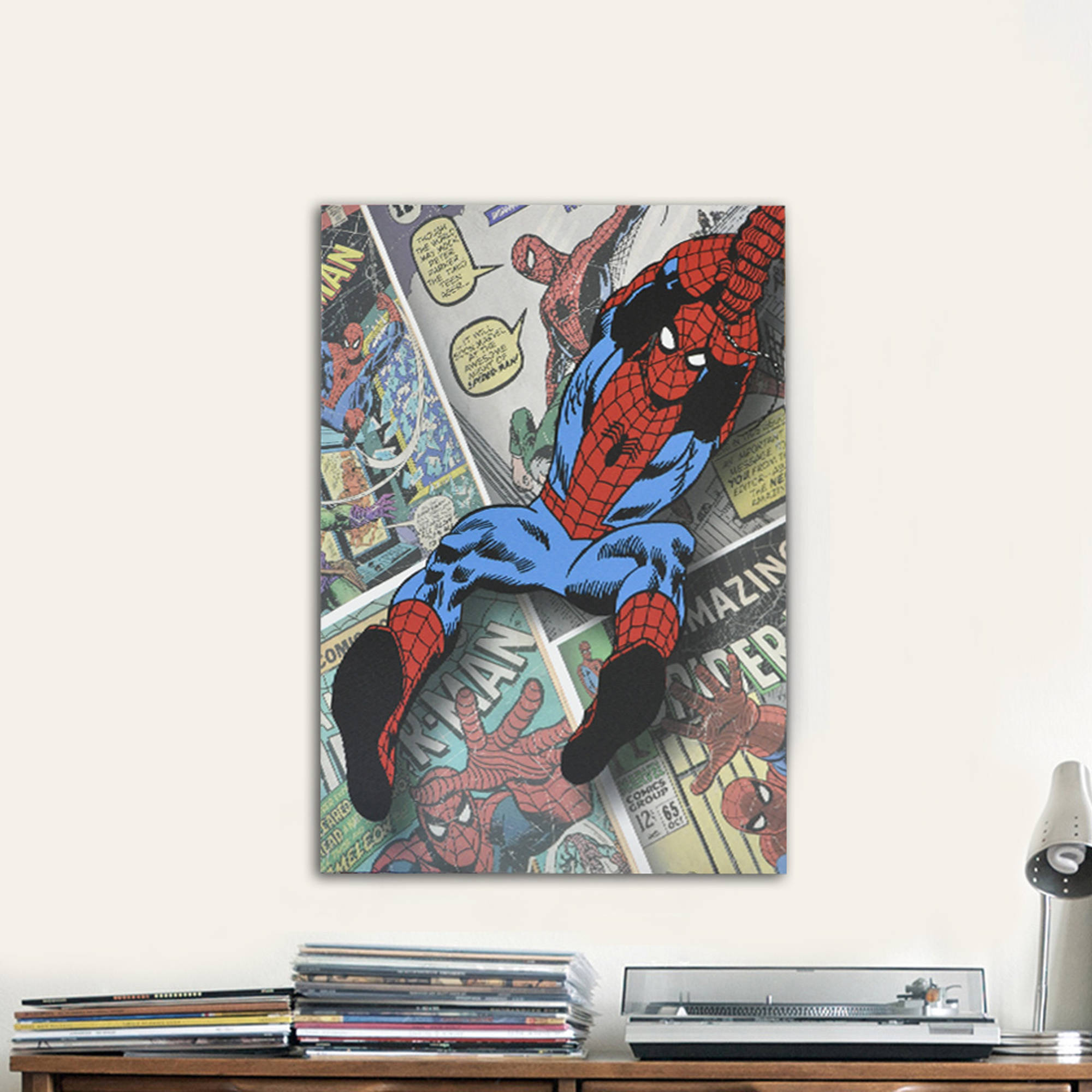 Spider-Man Canvas Wall Art