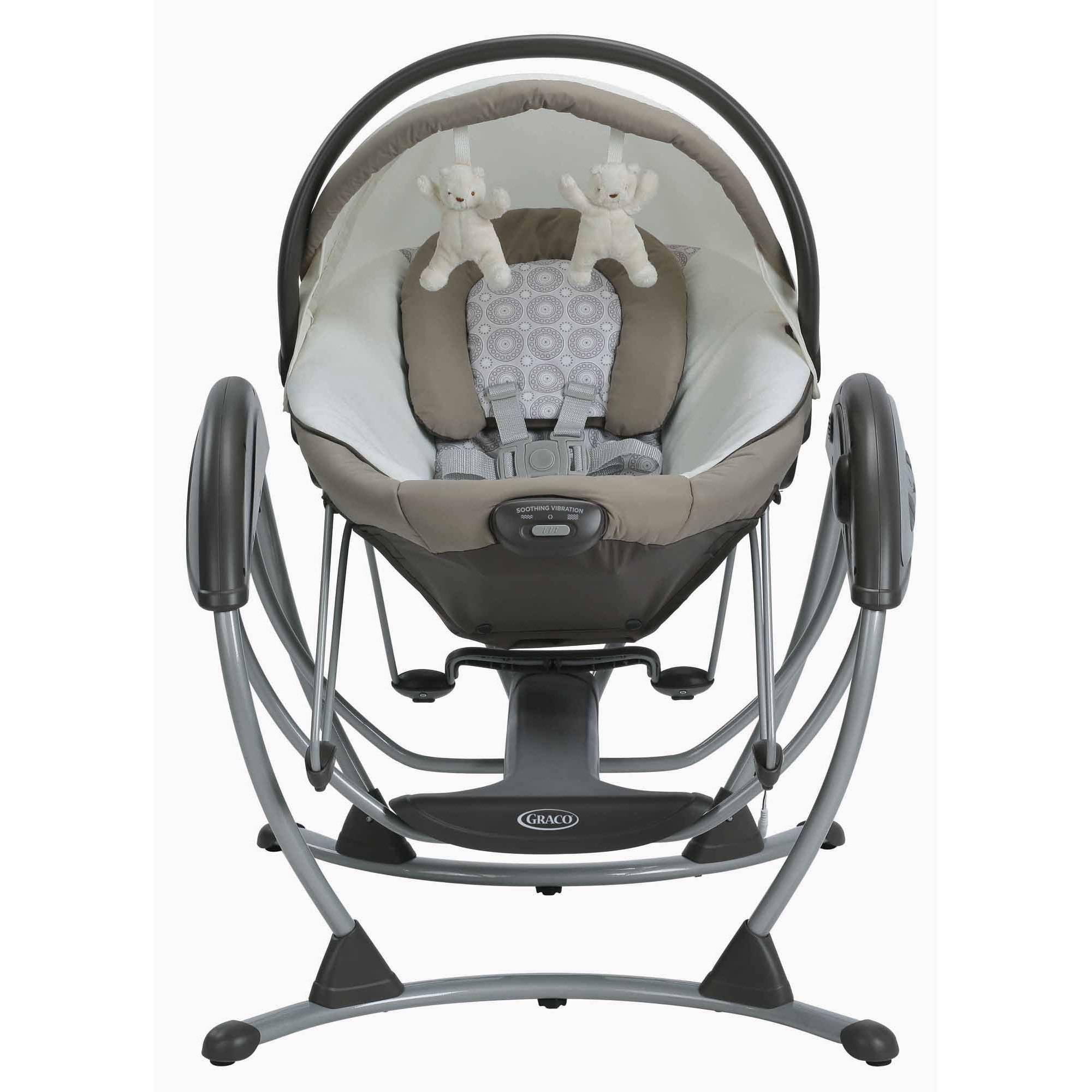 Graco Soothing System Glider Baby Swing Abbington Walmart Com
