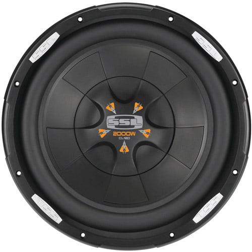 """SOUNDSTORM CL12D CL Series Subwoofer (12"""" 2000 Watts)"""