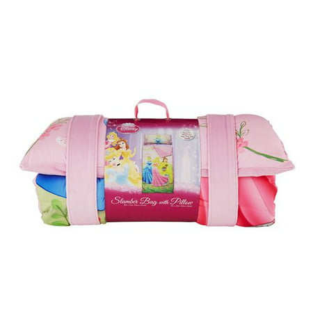 Princess Slumber Bag W Pillow Walmart Com