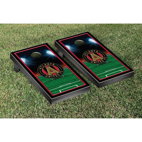 Victory Tailgate MLS Atlanta United FC Soccer Field Version 1 Cornhole Game Set by