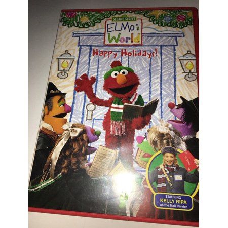 Elmos World Happy Holidays Dvd 2002 Tested Rare Vintage Ships In 24 Hours