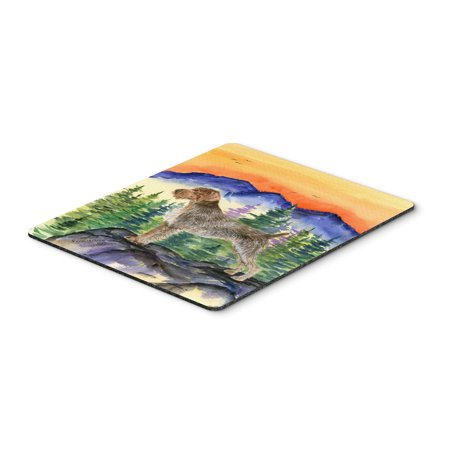 German Wirehaired Pointer Mouse Pad / Hot Pad / Trivet