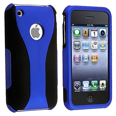 Rubberized Hard Snap-on Cup Shape Case for iPhone 3G / 3GS -