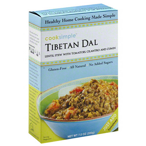 Cooksimple Tibetan Dal, 7 oz, (Pack of 6) by Generic