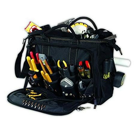 Custom LeatherCraft 1539 18 Multi Compartment Tool Carrier