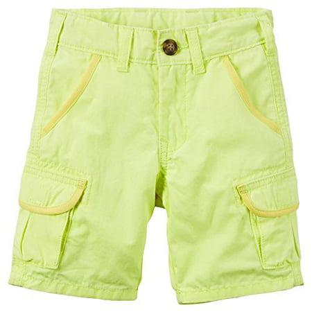 2e11eba53 [amz_brand] - carter's baby boys' canvas cargo shorts - yellow - 9 months -  Walmart.com