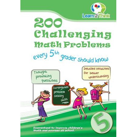 200 Challenging Math Problems Every 5th Grader Should Know - Halloween Games For 5th Graders