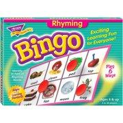 Trend, TEPT6067, Rhyming Bingo Game, 1 Each, Multi
