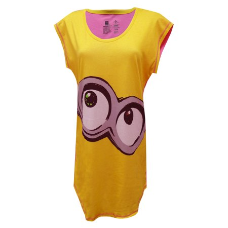 Despicable Me Minion Ladies Night Shirt](Despicable Me Female Minion)