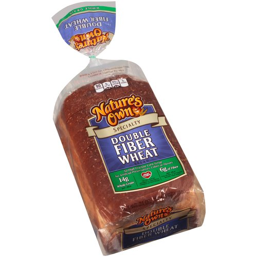 Nature's Own Specialty Double Fiber Wheat Bread, 24 oz
