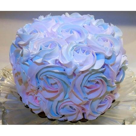 Astounding Cotton Candy Swirl Cake 6 Fake Cake Faux Unedible Prop Funny Birthday Cards Online Hendilapandamsfinfo