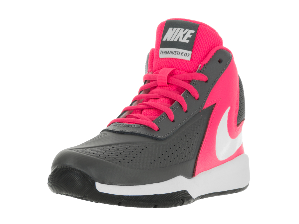 more photos c0f7b b606a Nike Kids Team Hustle D 7 (PS) Basketball Shoe - Walmart.com