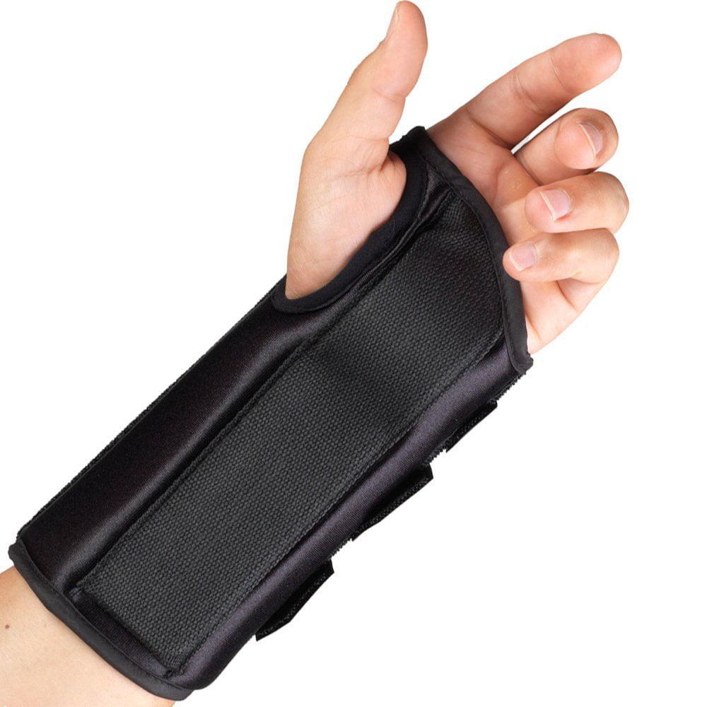 "OTC 8"" Wrist Splint, Left Hand, Black, Medium"