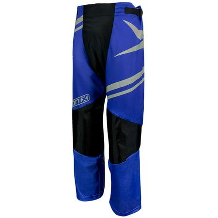 TronX Venom Roller Hockey Pants (Blue/Silver) Custom Roller Hockey Pants