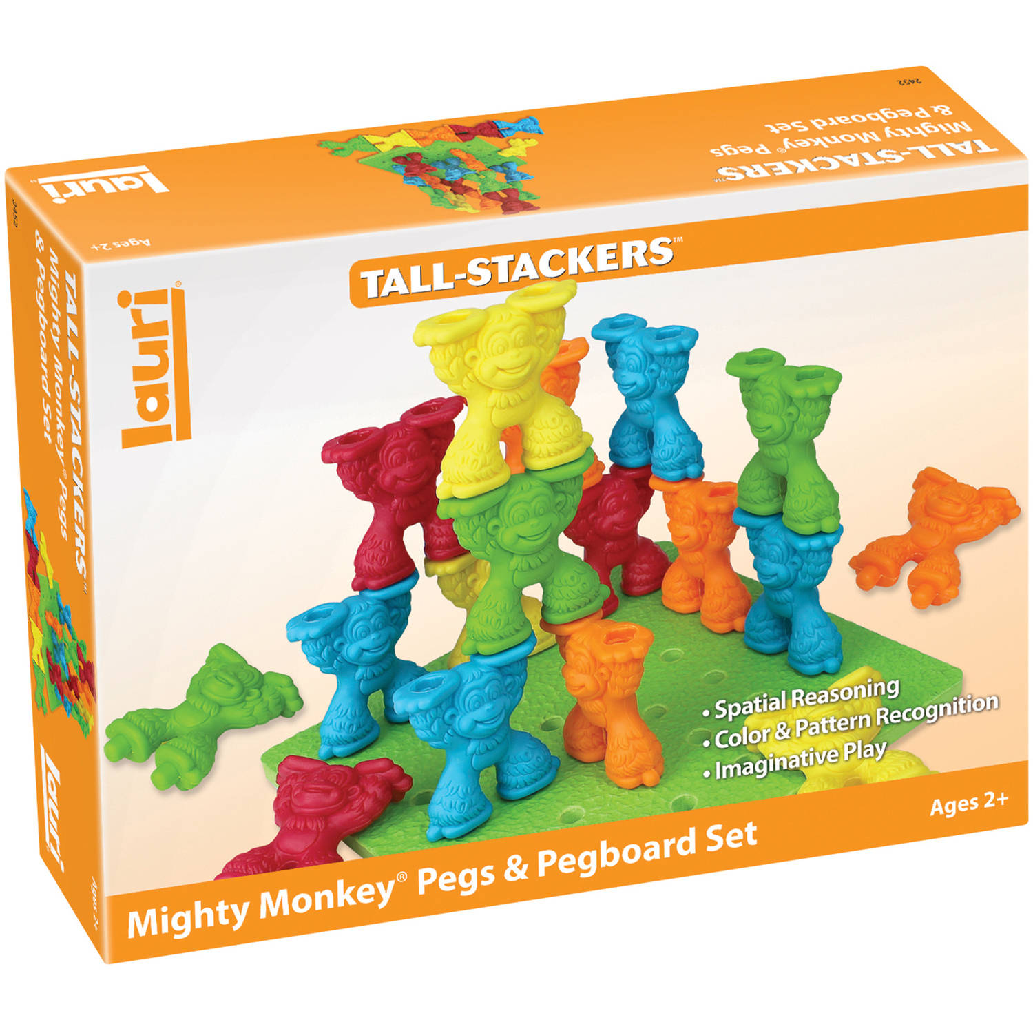 LAURI Mighty Monkey Pegs & Pegboard Set