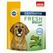 Pedigree Dentastix Fresh Biscuit Large Dog Treat, 3 Lbs.