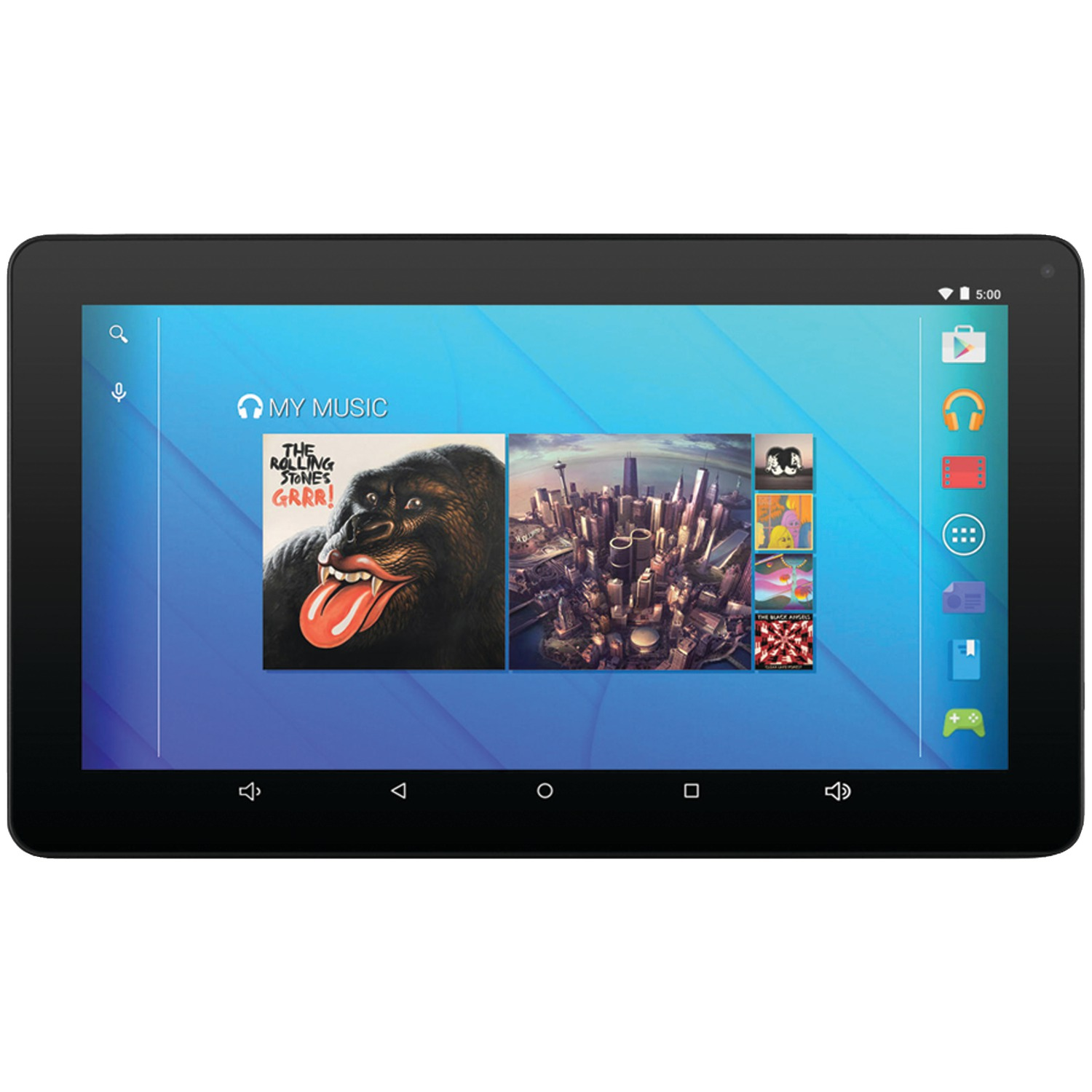 "Ematic EGQ223BL 10"" 16GB Quad-Core Android 5.1 Bluetooth Tablet"