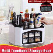 Coffee Condiment and Accessories Caddy Organizer Knives Holder Kitchen Storage Box Tableware Cutlery