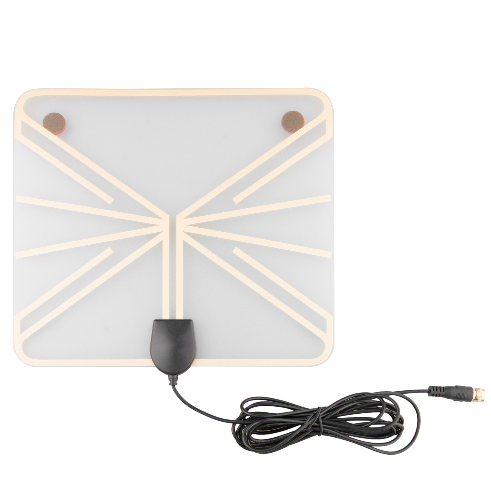 Amplified Outdoor Indoor TV Antenna,50 Mile Digital HDTV with 720p, 1080i, 1080p/ ATSC Amplifier Signal Booster Broadcast Clear Digital & HD shows ABC, CBS, NBC, Fox, The CW, and PBS