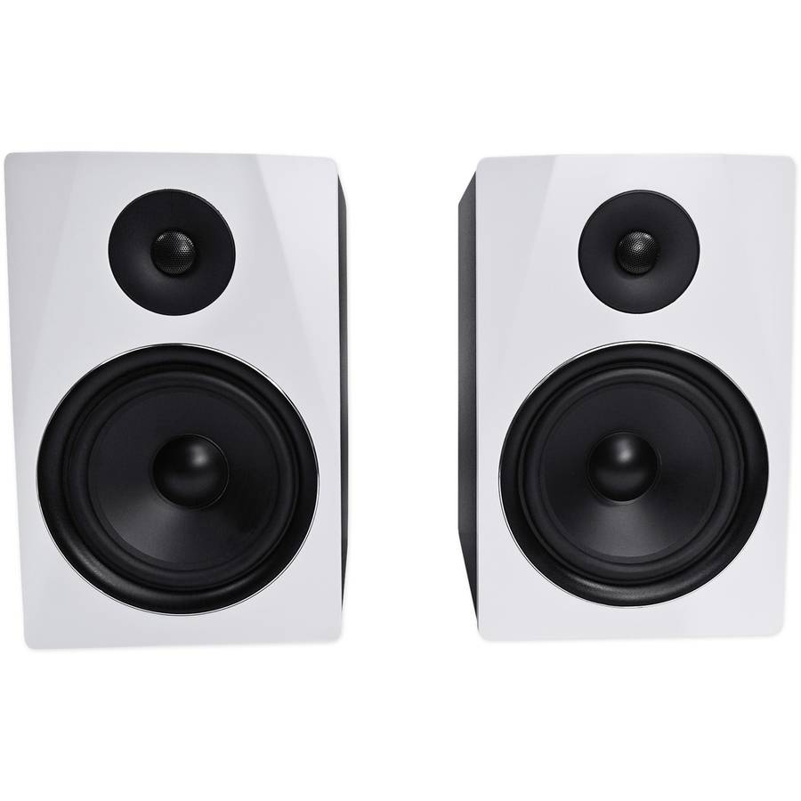 "Rockville APM8W 8"" 2-Way 500-Watt Active/Powered USB Studio Monitor Speakers, Pair"