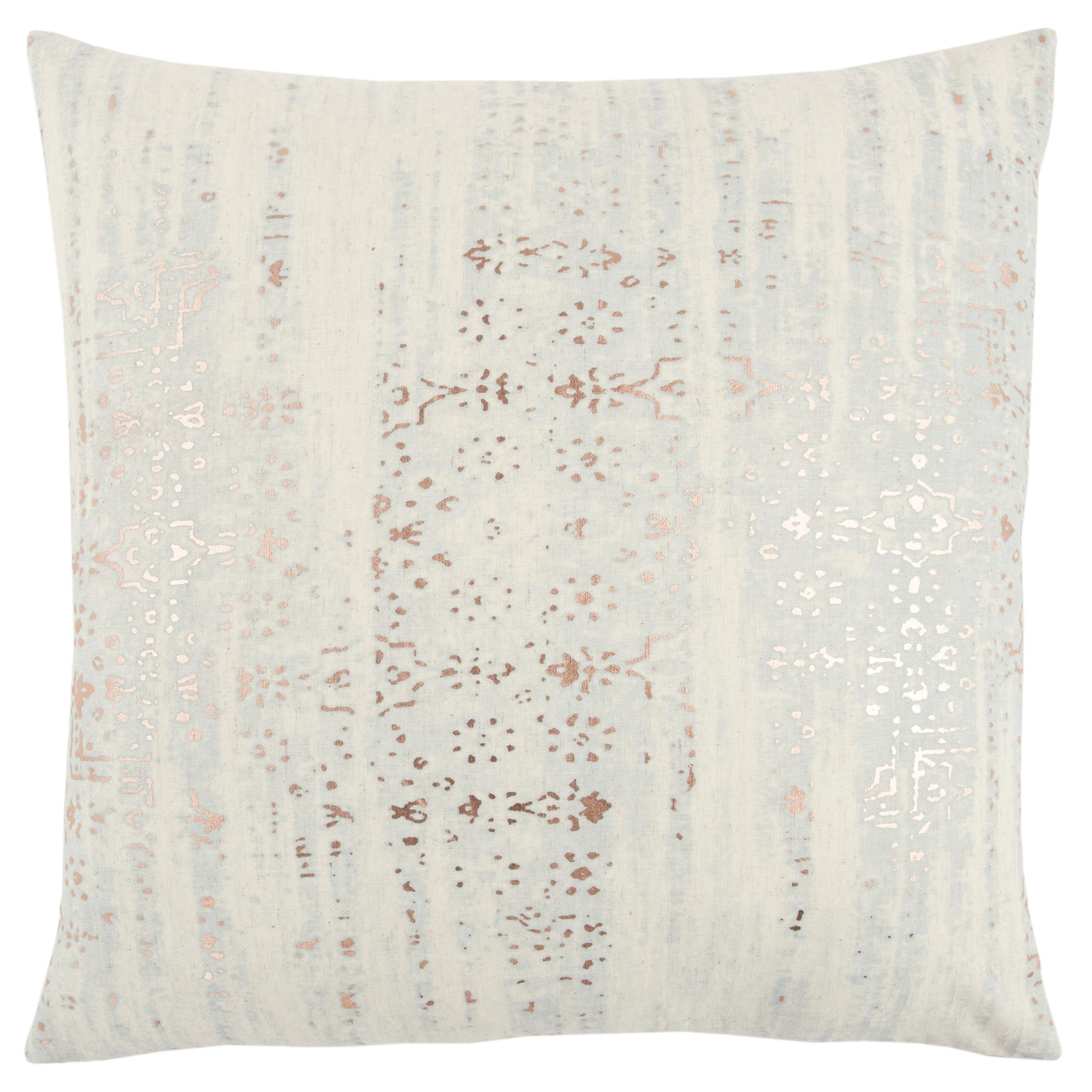 Rizzy Home Metallic-Wash Stripe Decorative Pillow