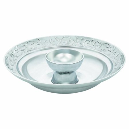 Lenox Opal Innocence Carved 14-Inch Chip and Dip