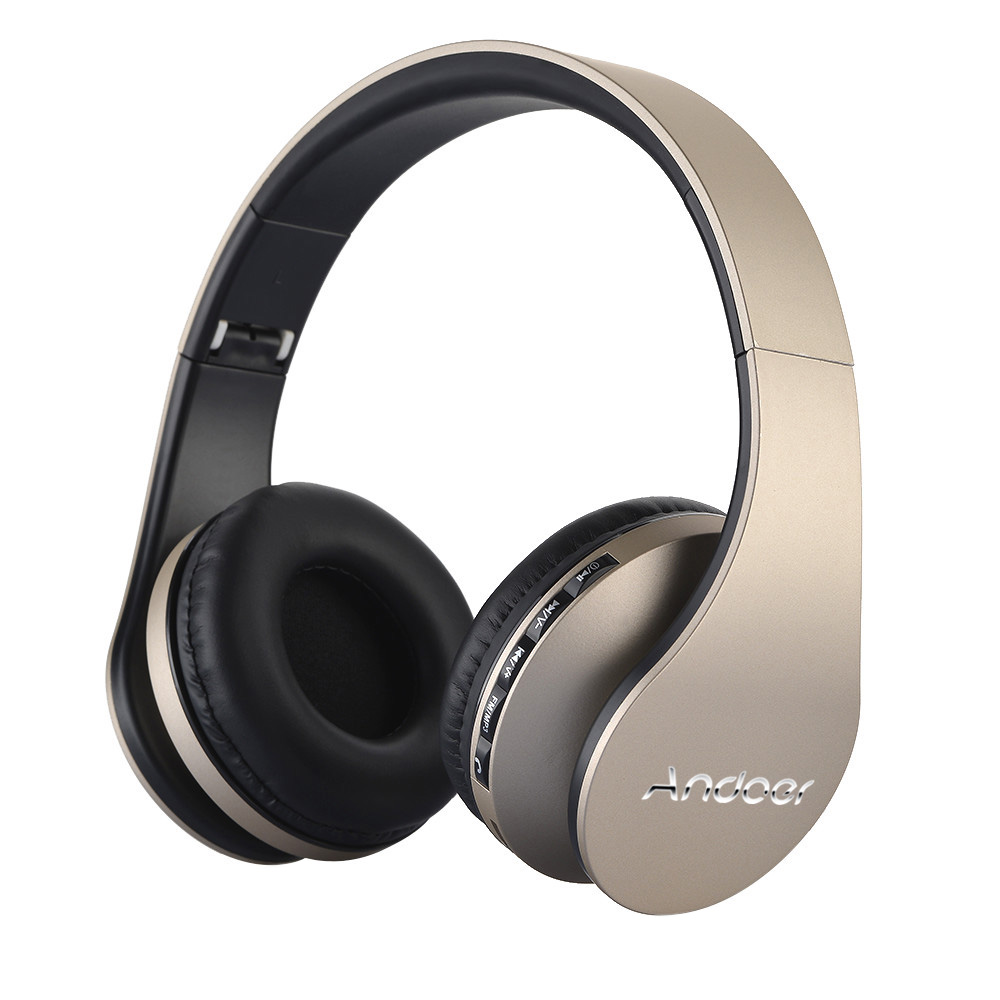 Andoer LH-811 BT 4.1+EDR Headset 4 in 1 Multifunctional Deep Bass Music Headphone with Mic