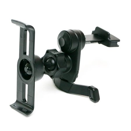 IG-A07+BKT400: i.Trek Air Vent Mount with Metal Spring Clip for Garmin Nuvi 1450 1450T 1490T 1490LMT GPS (Suitable for both horizontal and vertical AC