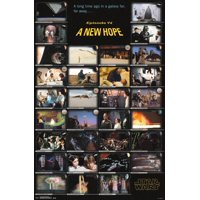 Star Wars Episode IV A New Hope Frames Movie Poster 22x34