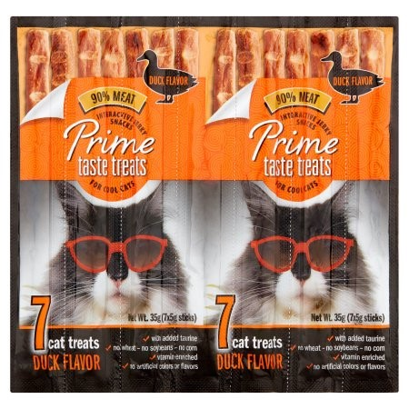 Prime Taste Treats Duck Flavor Cat Treats